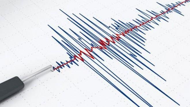 Ege'de korkutan deprem! Şiddeti...