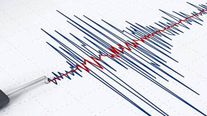 Ege Denizi'nde 3.6 büyüklüğünde deprem!