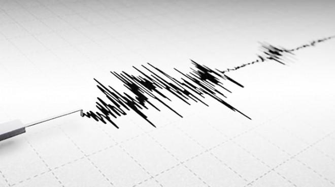 Ege Denizi'nde gece yarısı korkutan deprem
