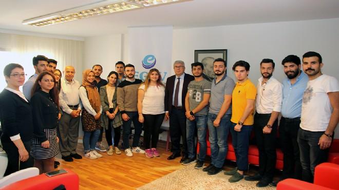 Ege Ekonomik Forumu'na üniversiteli desteği