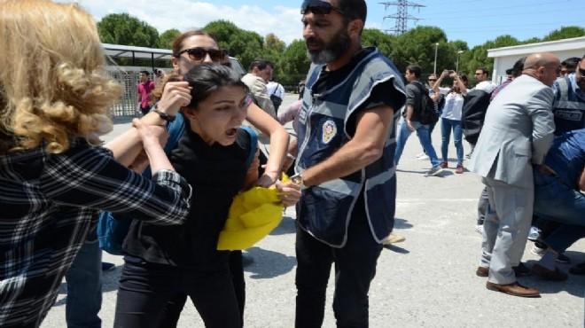 Ege Üniversitesi nde turnike gerginliği: 15 gözaltı