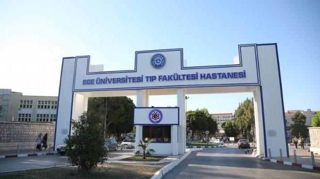 Ege Üniversitesi poliklinik hizmetlerinde 'virüs' molası!