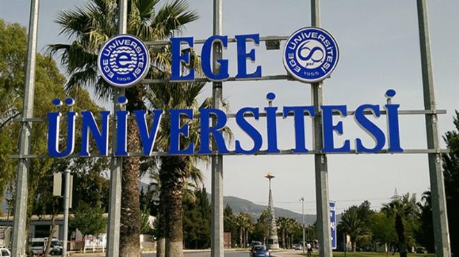 Ege Üniversitesi yüksek atladı!