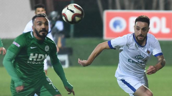 Ekol Göz Menemenspor'dan ikinci yarıya kötü başlangıç