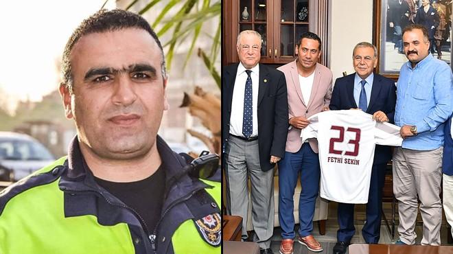 Elazığspor yöneticilerinden Kocaoğlu'na Fethi Sekin teşekkürü