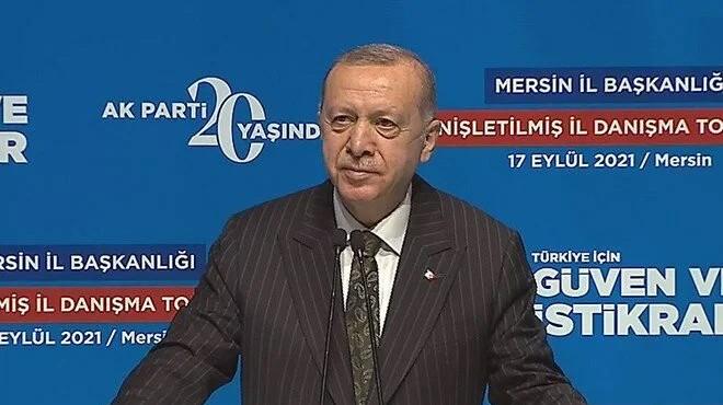 Erdoğan: Dağıttıkları vaatlerin altında ezildiler