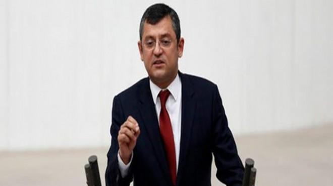 Erdoğan'dan CHP'li Özel hakkında 100 bin liralık dava