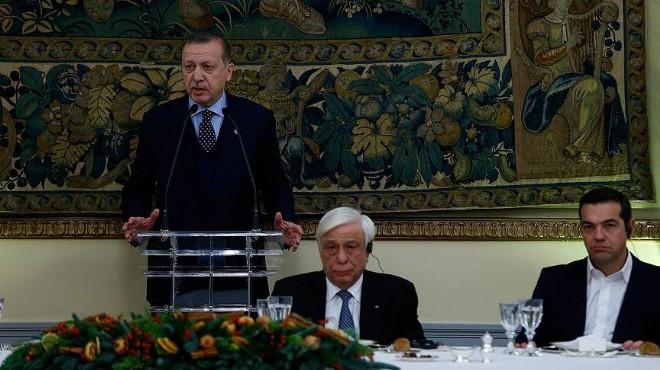 Erdoğan'dan Yunan gazetesine flaş açıklamalar
