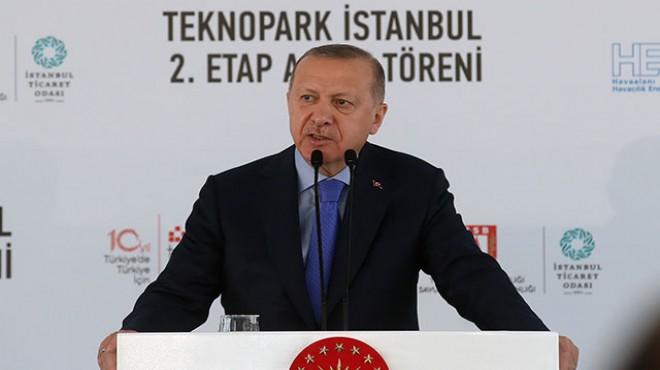 Erdoğan: Zaman yatırım zamanıdır