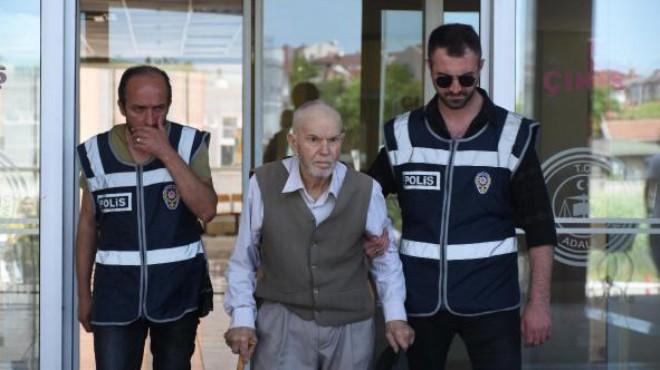 Eşini keserle öldüren 81 yaşındaki şüpheli için karar