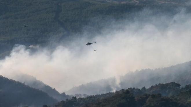 İzmir yangını için özel ekip kuruldu