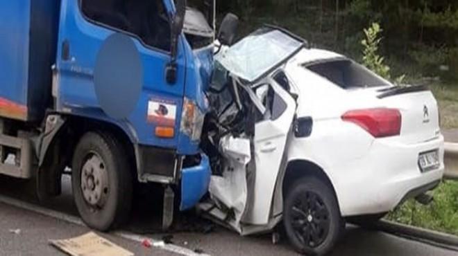 Feci kaza: 2 üniversite öğrencisi hayatını kaybetti