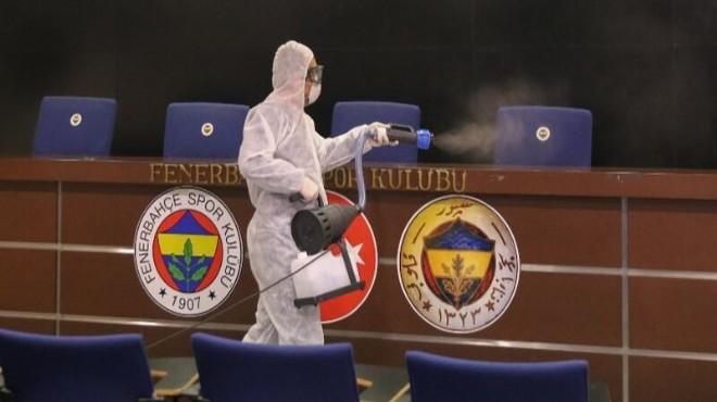 Fenerbahçeli futbolcuda corona virüs!