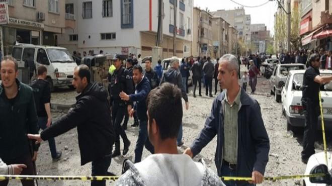 Diyarbakır'da patlama: 1 ölü, çok sayıda yaralı
