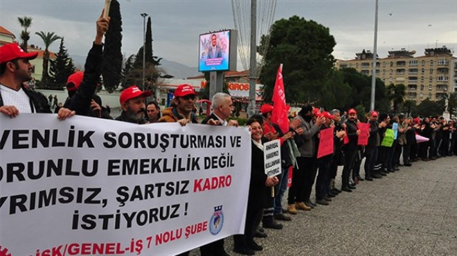 Flaş! İzmir'de 2 bin 500 çalışan işsiz kaldı!