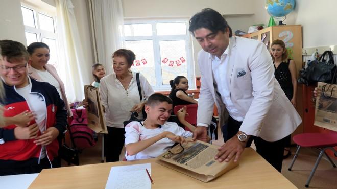 Foça'da engellilere özel ziyaret