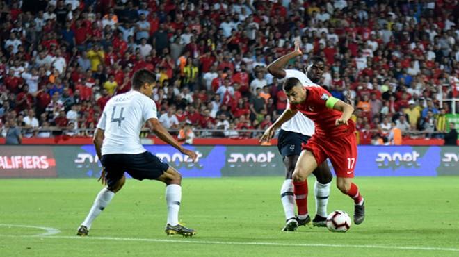 Fransız oyuncular Türkiye maçını değerlendirdi