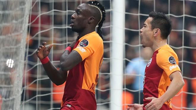 Galatasaray, Trabzon'u 3 golle geçerek zirve takibini sürdürdü