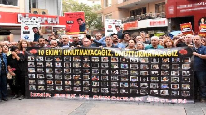 Gar saldırısında ölenler İzmir'de anıldı