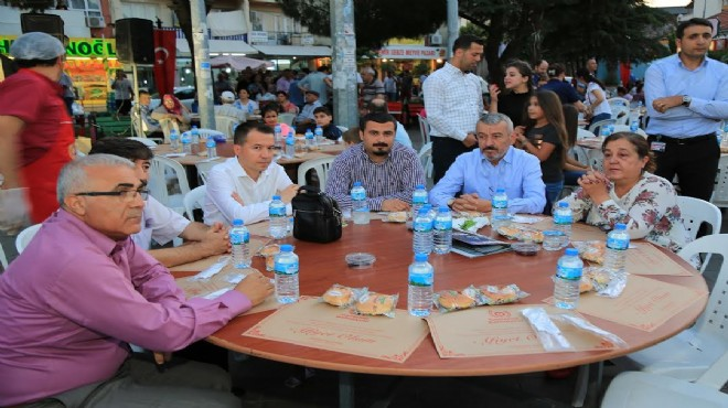 Gaziemir'de 'Halil İbrahim sofraları'