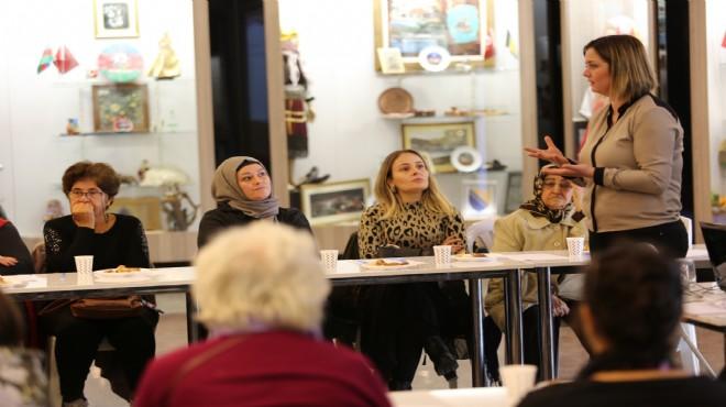 Gaziemir'de seçilmiş kadınlar buluşması