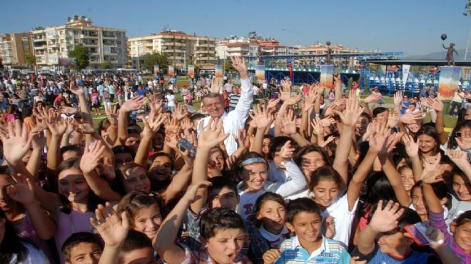 Gaziemir'de yaz kursu heyecanı
