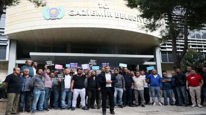 Gaziemir'deki Pazar yeri tartışmasında söz belediyede: Can güvenliğini tehdit ediyordu!