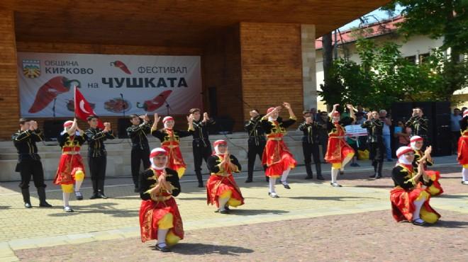 Gaziemir'den Bulgaristan'da Zeybek gösterisi!