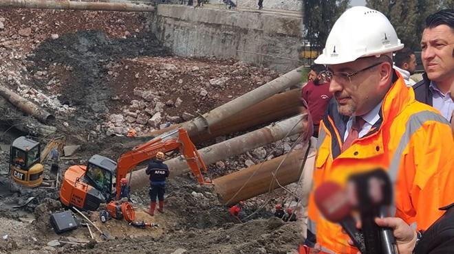 Genel Sekreter Gökçe anlattı: Halkapınar'daki göçükte detaylar belli oldu