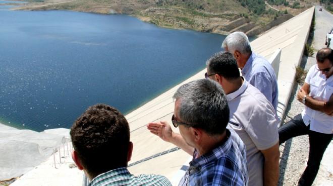 Gördes Barajı'nda geri sayım: İzmir'de susuzluk tarih olacak