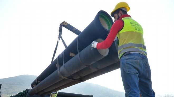 Gördes'ten İzmir'e can suyu hattı: Bornova'da '210 günlük' mesai başladı