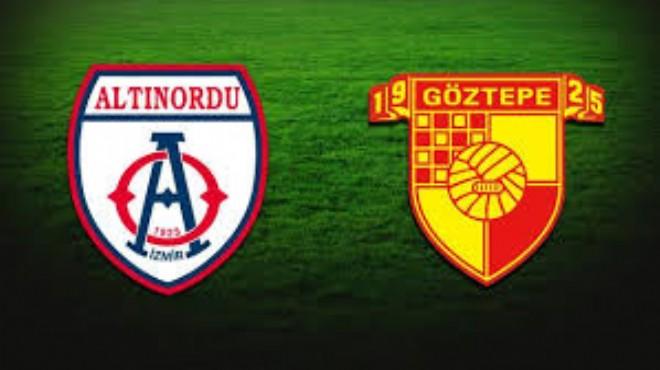 Göztepe, Altınordu ile hazırlık maçı yapacak!
