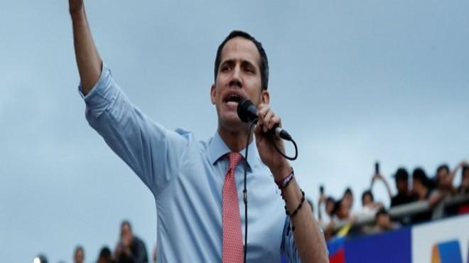 Guaido ABD ordusu ile 'iş birliği' istiyor