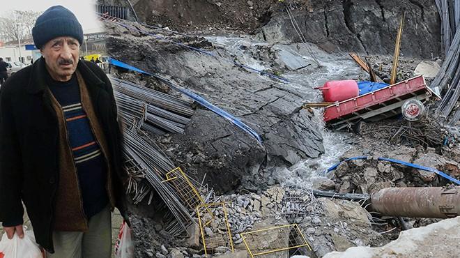Halkapınar'daki göçükten acı haber