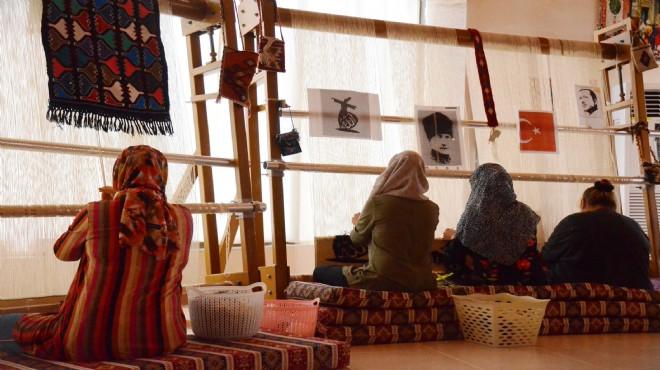 Kadınlar üretiyor, Kemalpaşa Belediyesi destekliyor