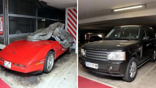 Havalimanı otoparkında unutulan araçlar şaşırttı!