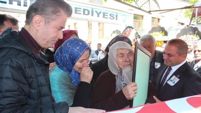 Hayatını kaybeden MHP Alaşehir ilçe başkanı için son görev