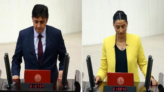 HDP'li iki vekil hakkında soruşturma!