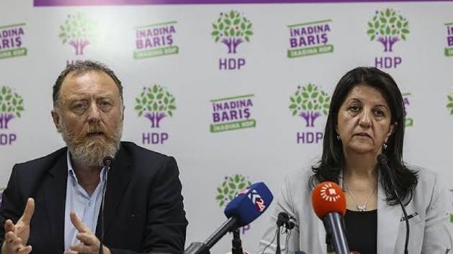 HDP'li Temelli ve Buldan hakkında soruşturma!