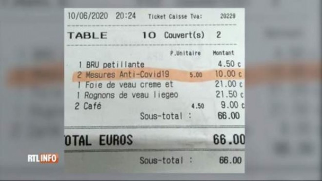 Her müşteriden 5 euro 'korona bedeli' alıyorlar!