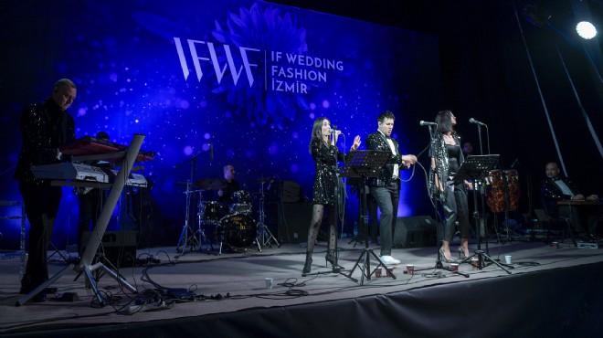 IF Wedding Fashion İzmir'e 'renkli' başlangıç