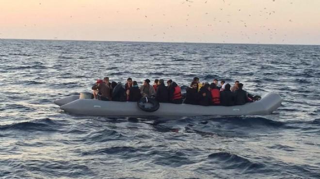 İki ilçede 142 düzensiz göçmen yakalandı