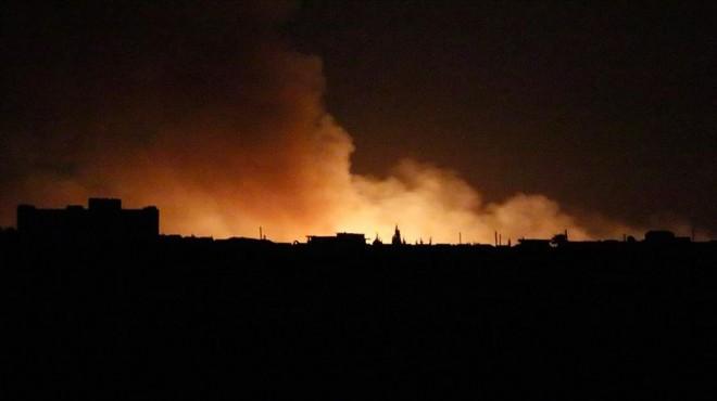 İlk gün raporu: 181 hedef ateş altına alındı