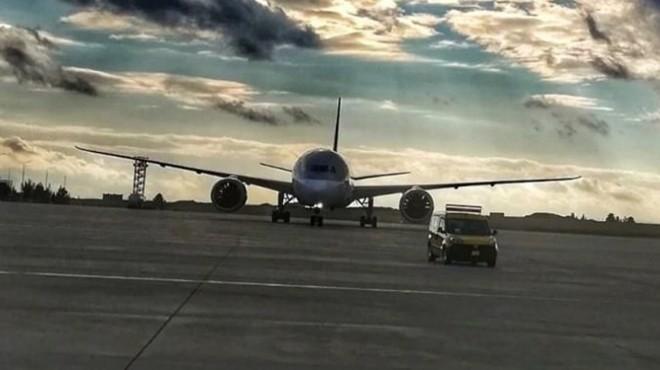 İngiltere-Katar uçağı Şanlıurfa'ya zorunlu iniş yaptı