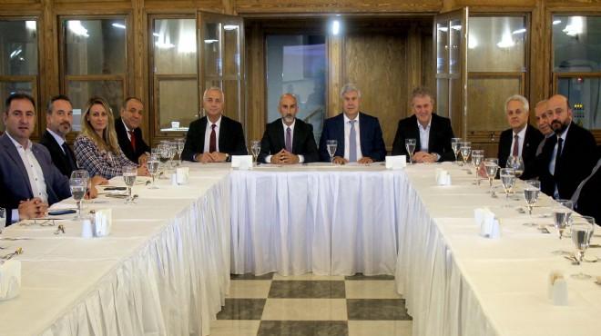 İzmir Başkanlar Kurulu'ndan Kemeraltı mesaisi