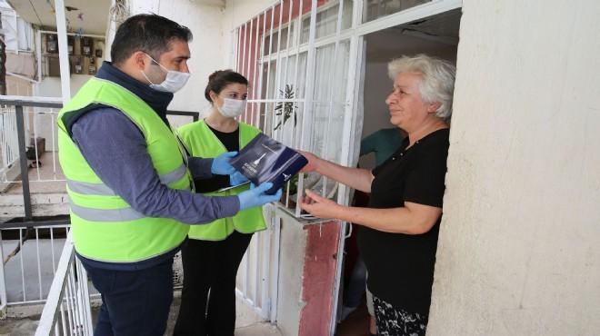 İzmir'de 60 yaş üstü vatandaşlara bayram hediyesi