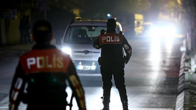 İzmir'de asayiş raporu: Bir haftada 512 kişi!
