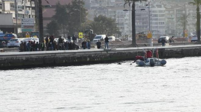 İzmir'de denizden tabanca çıktı!