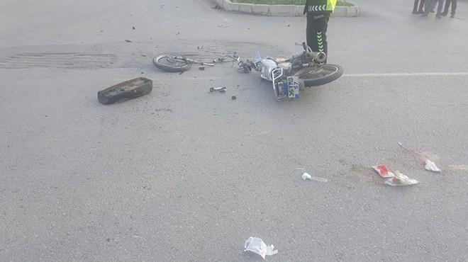 İzmir'de feci kaza: 1 ölü 1 yaralı!