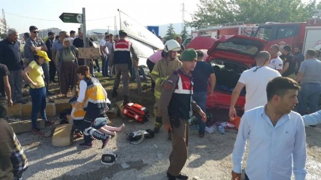 İzmir'de feci kaza: Daha 13'ündeydi...